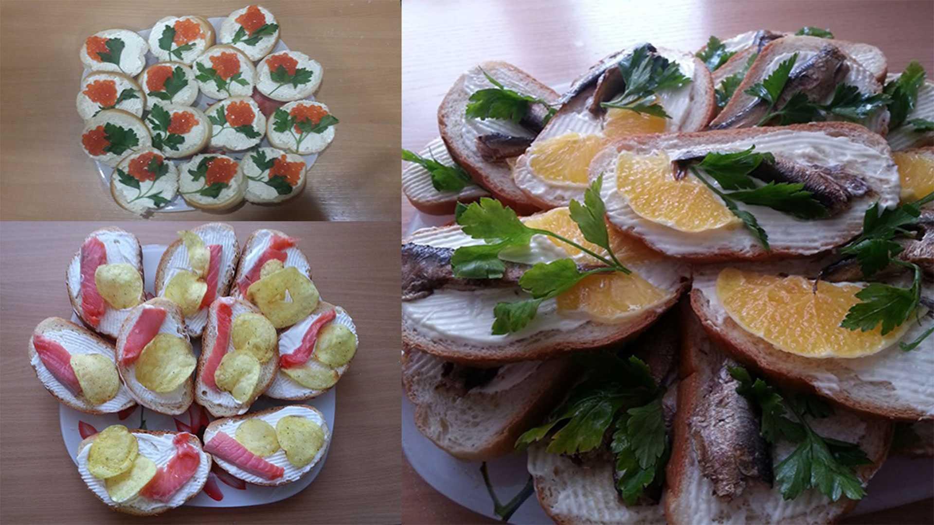 Как приготовить вкусные и красивые бутерброды: простые пошаговые рецепты с фото