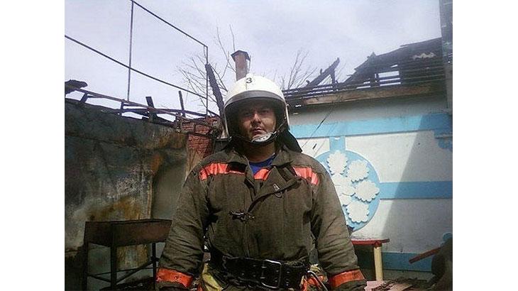 Я пожарный