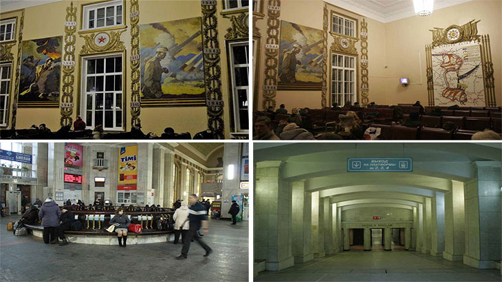 ЖД Вокзал Курск внутри