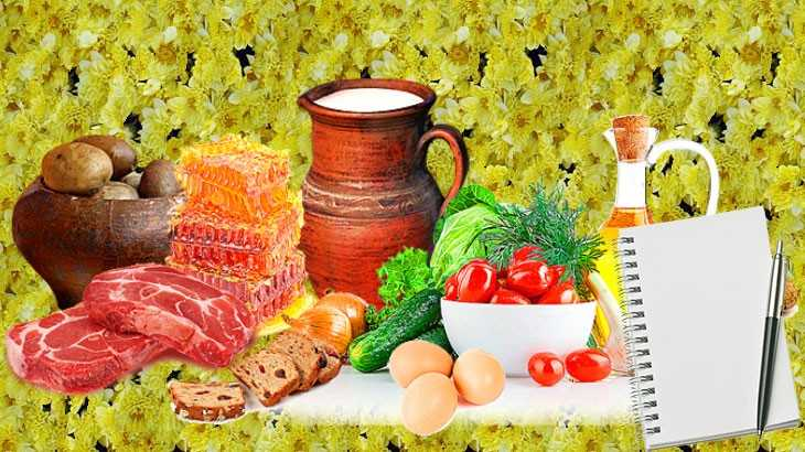 План здорового питания