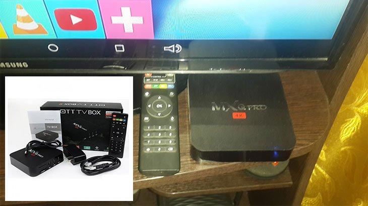 Smart TV с подключенной смарт приставкой