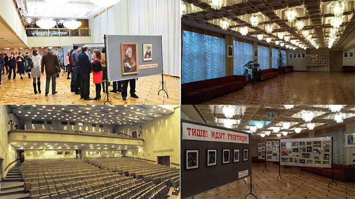 Курский Драматический театр внутри