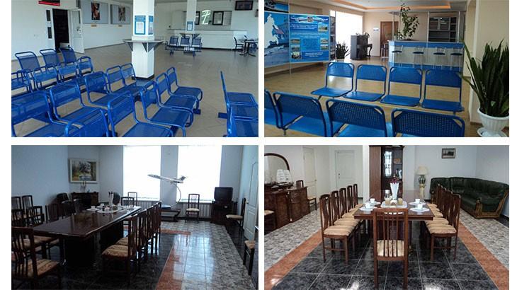 Залы ожидания Курского Аэропорта