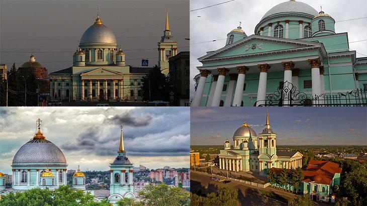 Знаменский Кафедральный Собор снаружи