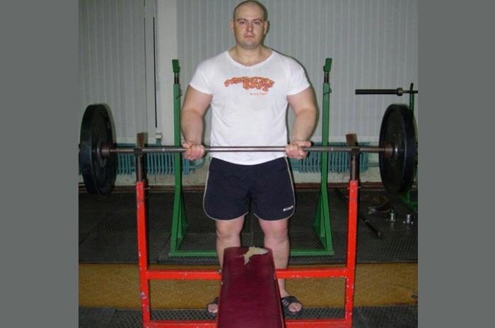 Спорткомплекс Салют Курск на тренировке 2005 год