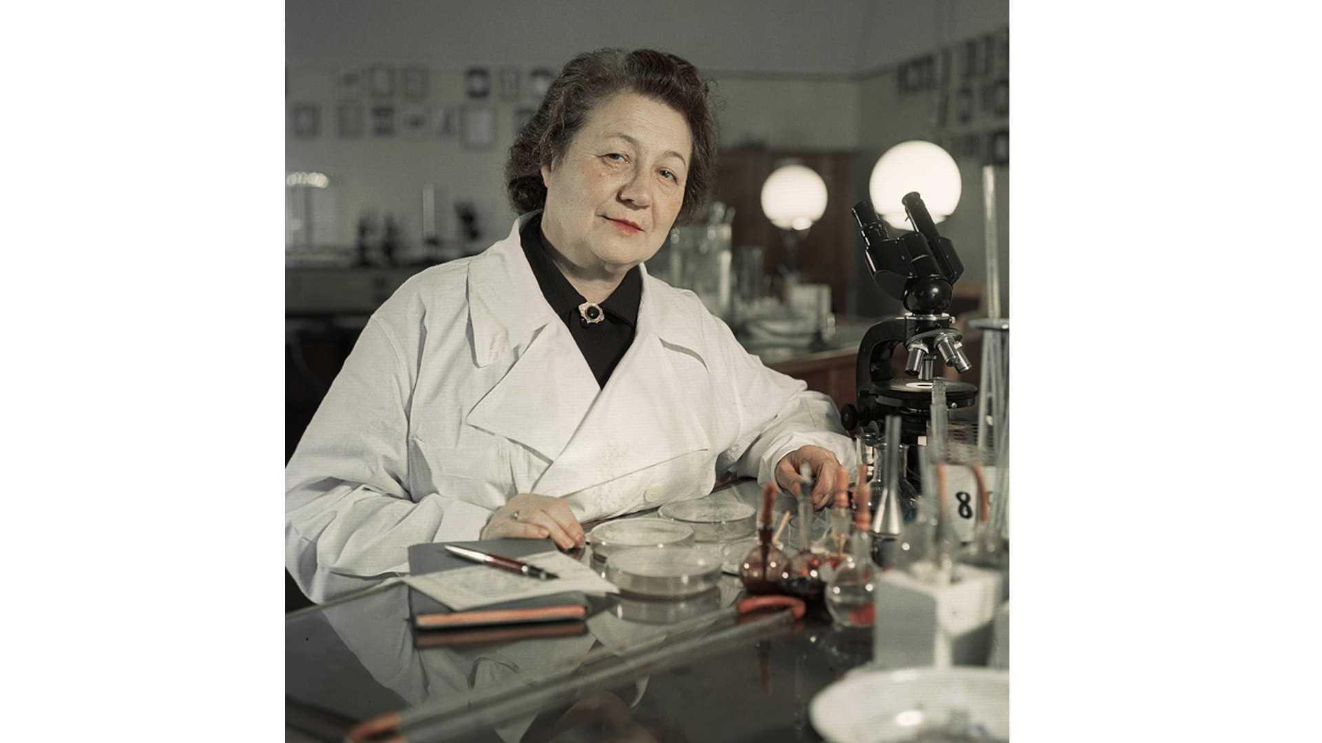 Великий микробиолог с мировым именем Зинаида Ермольева