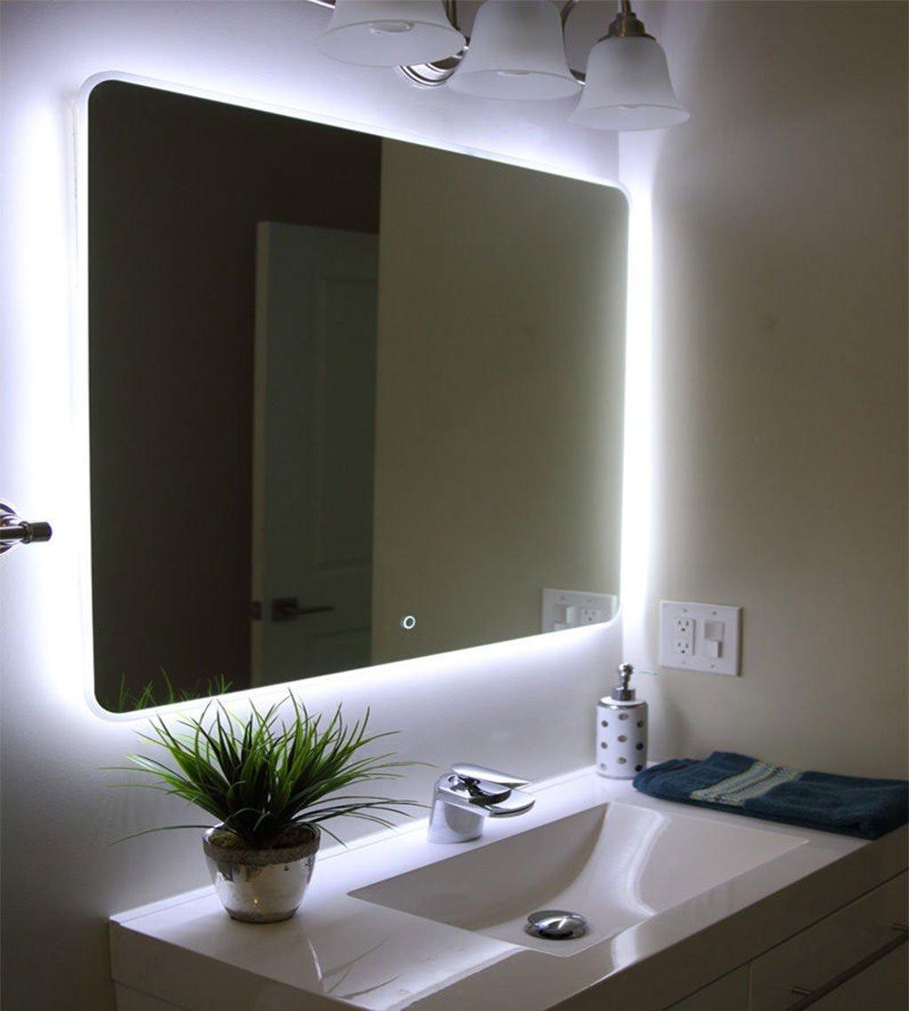 зеркало со встроенной светодиодной подсветкой