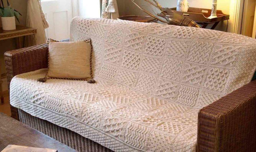 Какое покрывало выбрать для дивана с учетом особенностей здоровья