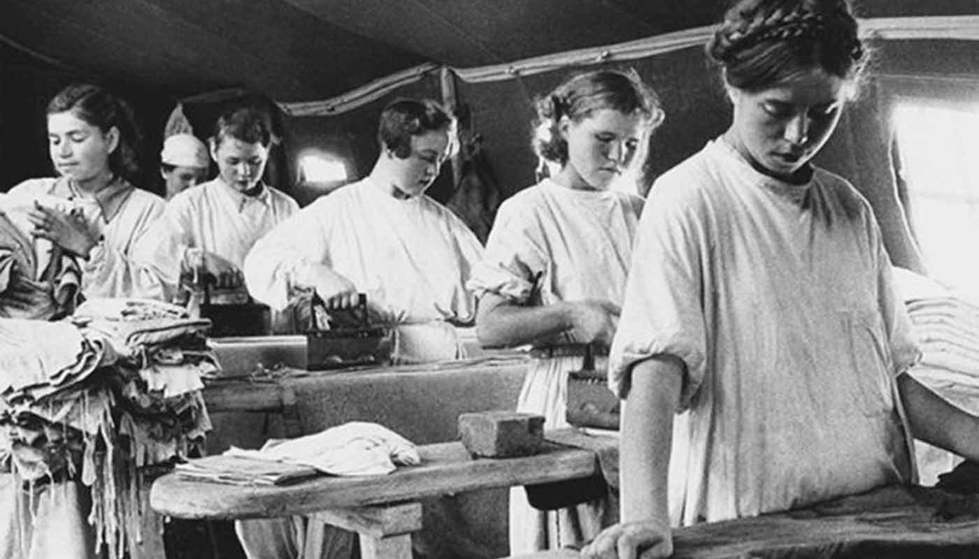 Трудовой и военный подвиг солдатских прачек в годы Великой Отечественной войны