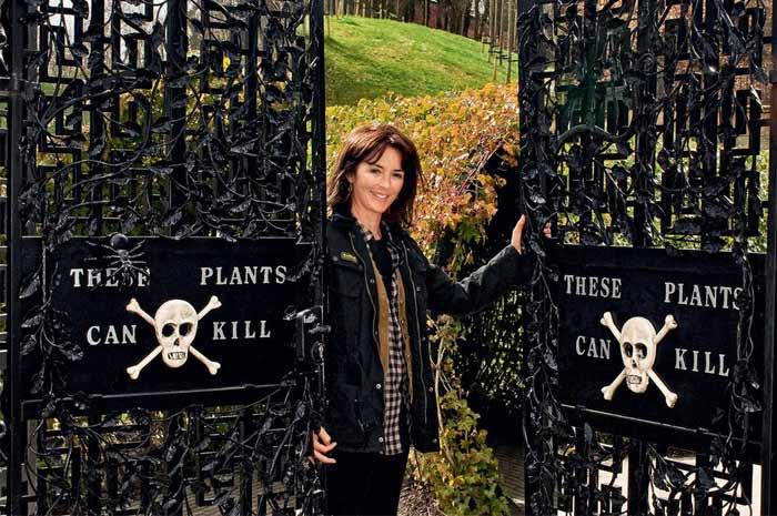 Хозяйка сада герцогиня Нортумберлендская Джейн Перси